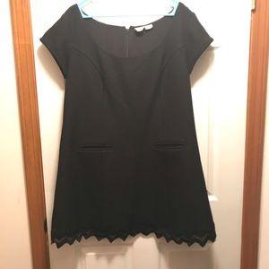eshakti Black Shift Dress